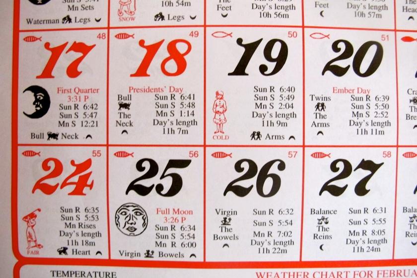 AlmanacCalendar