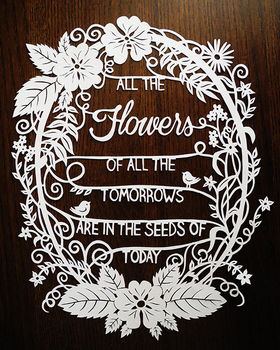 FlowerPaperCut